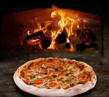 The Old Bath Arms Wood Fired Oven Baked Pizza