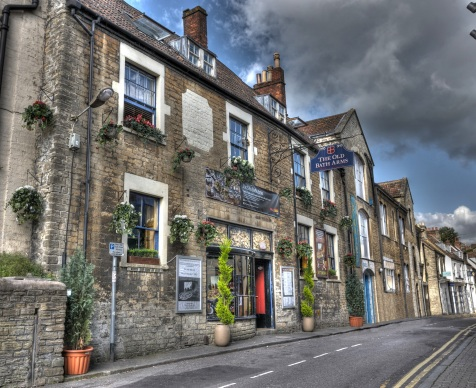 The Old Bath Arms HDR Copyright Martyn Payne 2014