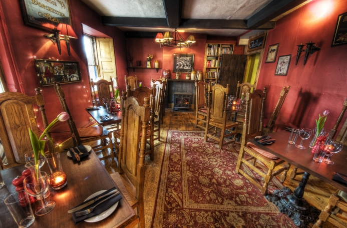The Old Bath Arms Red Room-1-9