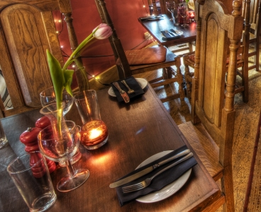 The Old Bath Arms Red Room-1