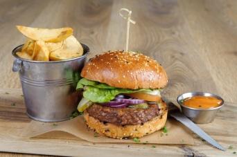 The Old Bath Arms Veg Burgers 0001
