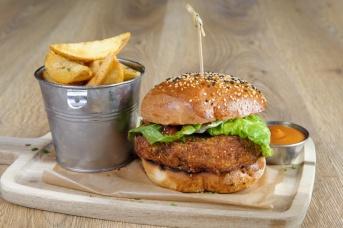 The Old Bath Arms Veg Burgers 0002