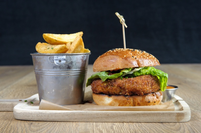 The Old Bath Arms Veg Burgers 0003