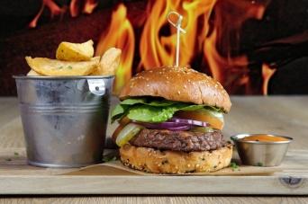 The Old Bath Arms Veg Burgers 0004