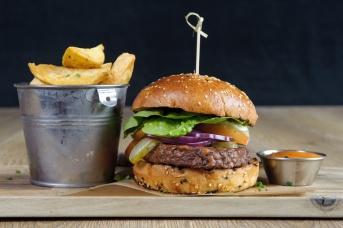 The Old Bath Arms Veg Burgers 0005