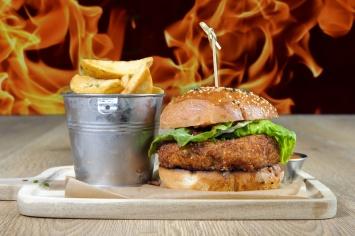 The Old Bath Arms Veg Burgers 0006