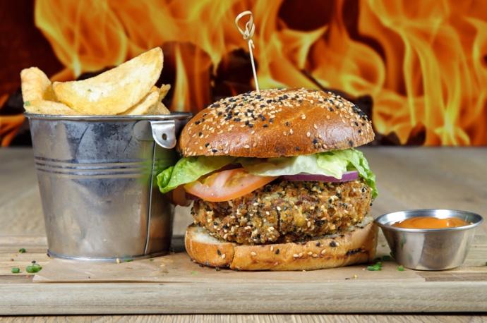 The Old Bath Arms Veg Burgers 0008