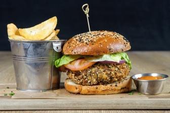 The Old Bath Arms Veg Burgers 0009