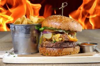 The Old Bath Arms Veg Burgers 0013