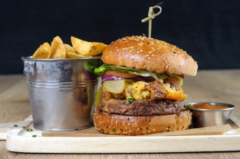 The Old Bath Arms Veg Burgers 0014