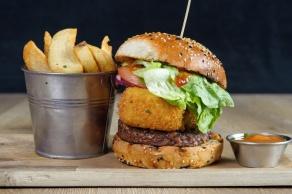 The Old Bath Arms Veg Burgers 0015