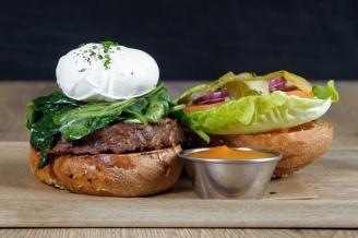 The Old Bath Arms Veg Burgers 0016