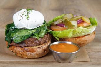 The Old Bath Arms Veg Burgers 0017