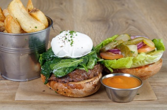 The Old Bath Arms Veg Burgers 0019