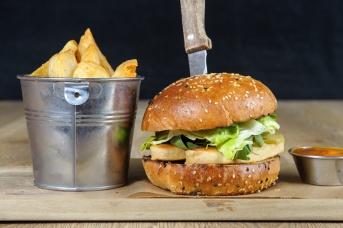 The Old Bath Arms Veg Burgers 0024