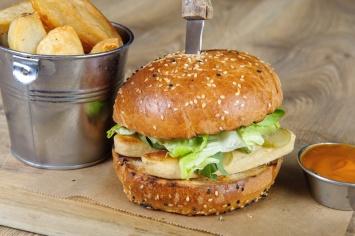 The Old Bath Arms Veg Burgers 0025