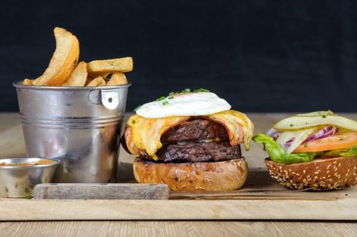The Old Bath Arms Veg Burgers 0026