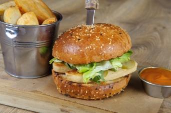 The Old Bath Arms Veg Burgers 0041