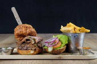 The Old Bath Arms Veg Burgers 0042